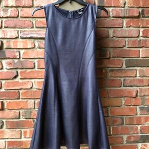 Aqua brand fitted but flair dress